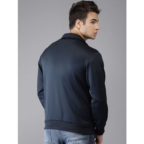 The Indian Garage Co navy blue polyester sweatshirt