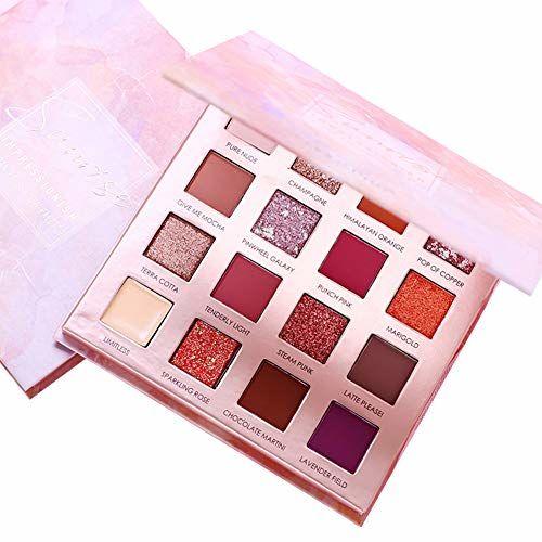Start Makers Matte 16 Colors Earth Desert Makeup Eyeshadow Palette
