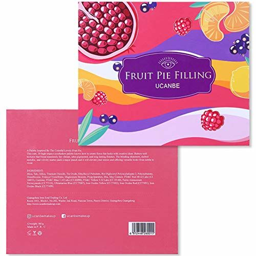 Start Makers Eyeshadow Palette Fruit Colour Matte Pink Palette Eyeshadow Makeup Kit 45g