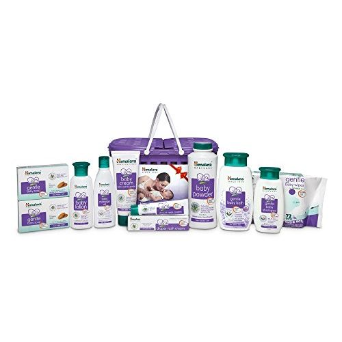 Himalaya HAPPY BABY GIFT BASKET (9 IN 1)