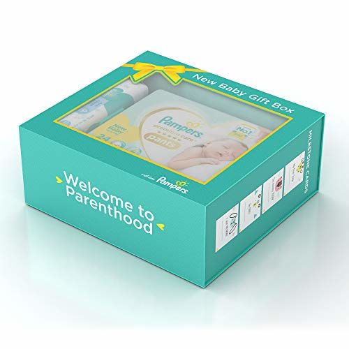 Pampers Premium Care New Born Gift Set (Multicolor)