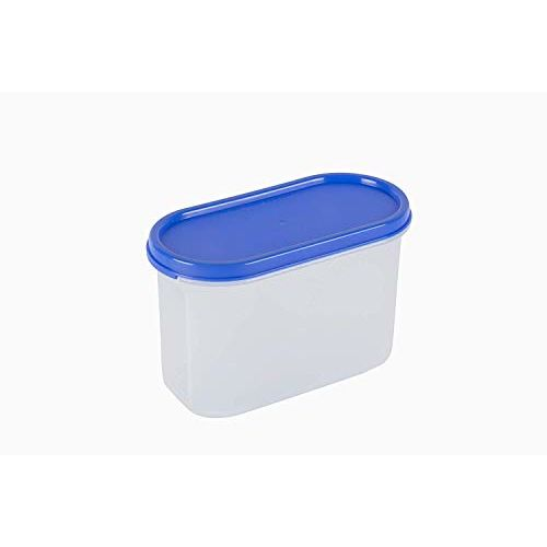 Cutting EDGE Air Tight Kitchen Storage Container for Rice | Dal | Atta, BPA-free, Flour | Cereals | Snacks | Stackable | Modular | 1200ML (5 Cup/40 Oz) | Set of