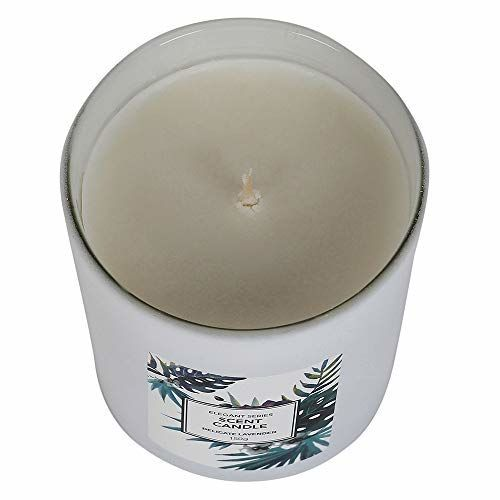 MINISO Elegant Series Scented Candle Delicate Lavender White 36 Hours Burn