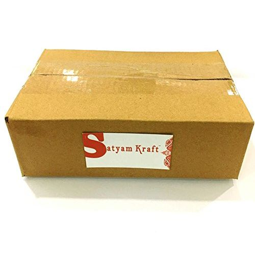 Satyam Kraft Plastic LED Tea Light Candles (Yellow) -Box of 12