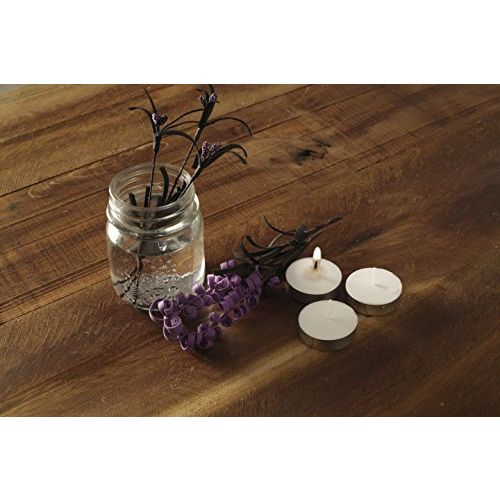 Amazon Brand - Solimo Wax Tealight Unscented Candle (Set of 50)
