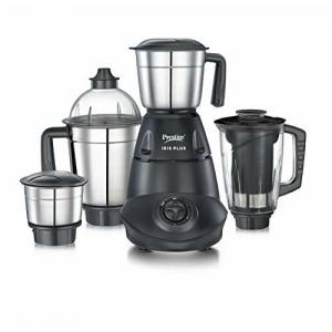 Prestige IRIS Plus 750 watt mixer grinder, Black