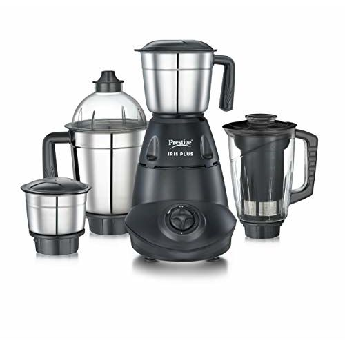 Prestige IRIS Plus 750 watt mixer grinder, Black