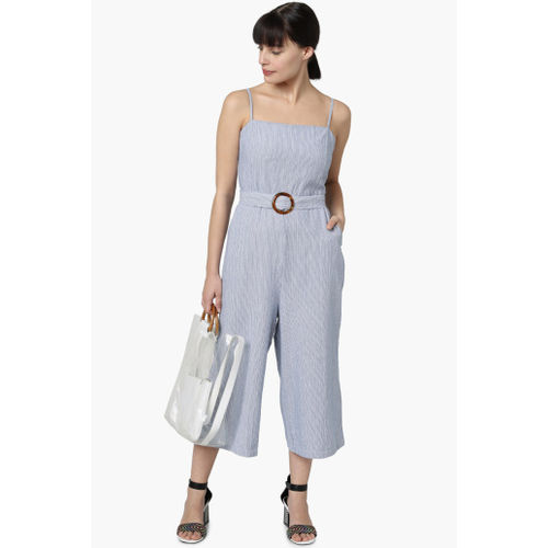 VERO MODA Women Striped Cropped Jumpsuit