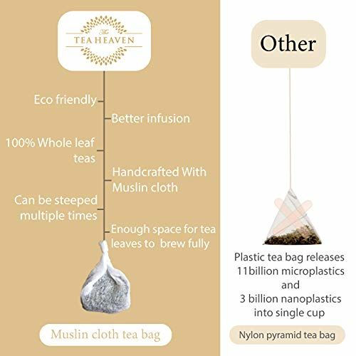 The Tea Heaven- Darjeeling Tea(Second Flush)-Directly from Premium Tea Estate- 100 % Natural Ingredients- 18 Tea Bags(2 Free Samples)