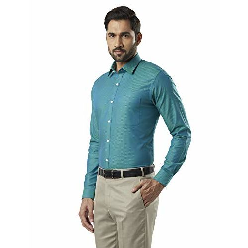 Raymond Green Slim Fit Cotton Shirt