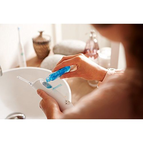 Philips Sonicare Airfloss Pro Rechargeable Water Flosser, HX8472/03 2 Nozzles