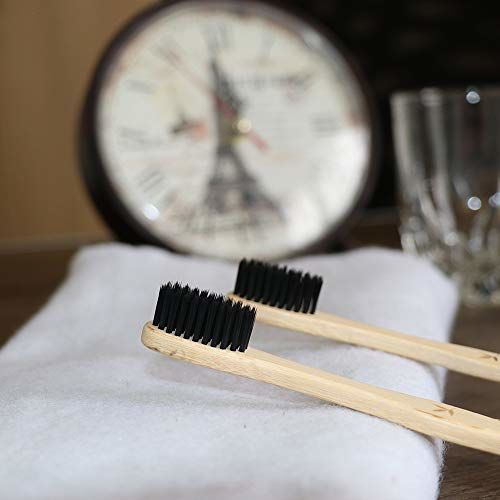 ECO365 Bamboo Toothbrush With Charcoal Infused Bristles(2)