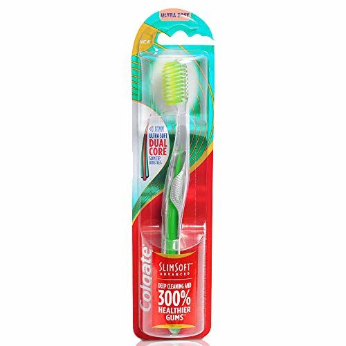 Colgate Slim Soft Advanced Toothbrush - 1 Piece (Ultra Soft)
