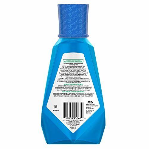 33.79 Fluid Ounce : Crest Scope Outlast Mouthwash, 1 L