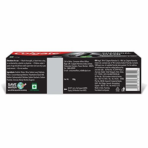 Colgate Charcoal Clean Toothpaste - 120g