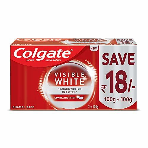 Colgate Visible White Saver Pack - 200gm