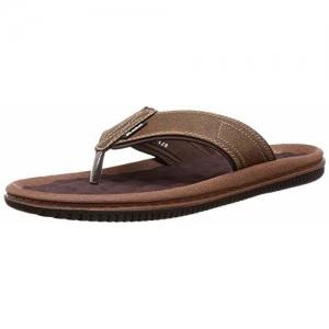 BATA Men's Joy Brown Flip Flops Thong Sandals - 6 UK/India (40 EU)(8714012)