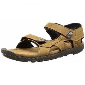 Woodland Men's Camel Leather Sandals-6 UK/India (40 EU) (GD 1037111CMA)