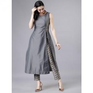 Vishudh Women Kurta and Trousers Set