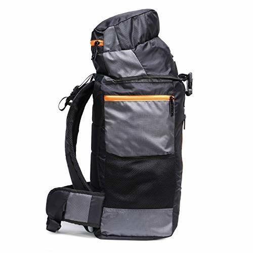 Chris & Kate Black Travel Rucksack Backpack-Trekking Backpacks-Camping Daypack Bag (CKB_205KF)