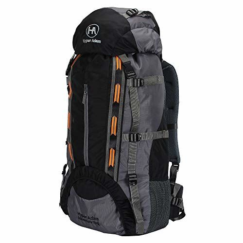 Hyper Adam 75 L Rucksack Hiking Backpack Trekking Bag Camping Bag Travel Backpack Outdoor Sport Rucksack Bag With Shoe Compartment And Rain Cover