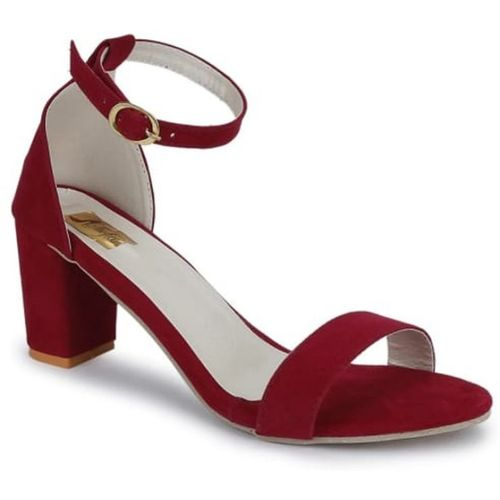 Fashion Tails  Maroon Suede Lether Sandal