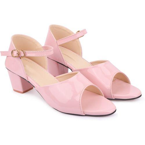 BULLFER Women Pink Heels