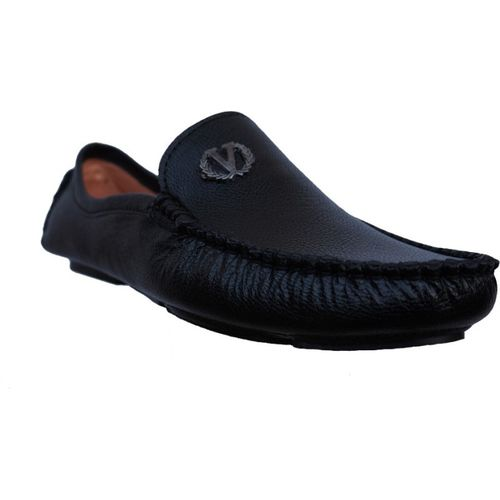 Stylish Hand Made Loafar Loafers For Men(Black)