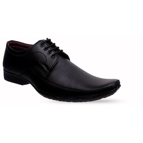 Bonsar 0154 Derby Black Synthetic Formal Shoes