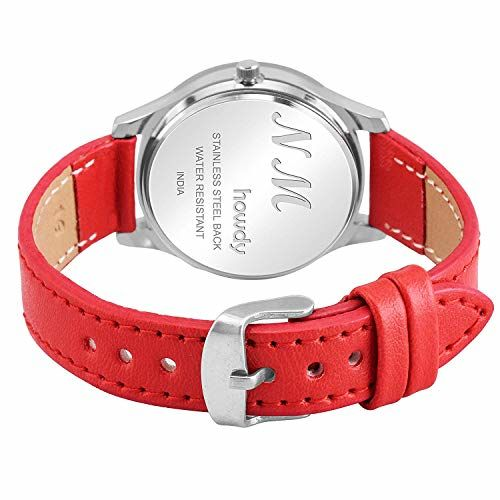 howdy Analog Red Dial Red Strap Watch- for - Women's & Girl's ss347