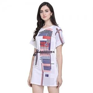 J B Fashion Polyester Laycra wrap Dress
