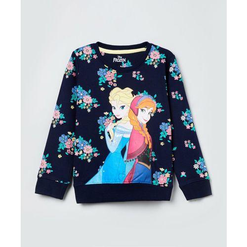 Max Full Sleeve Printed Girls Sweatshirt