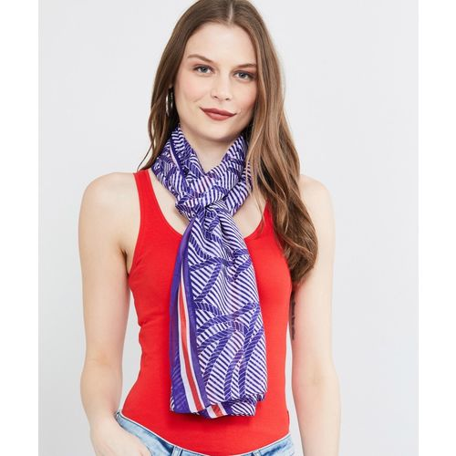 Max Printed Polyester Women Scarf