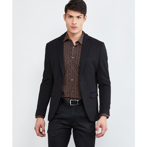 Max Full Sleeve Solid Men Jacket