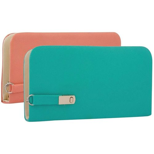 SCORIA Synthetic Casual Wallet Combo