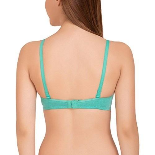 buy tweens sea green underwire pushup padded bra online