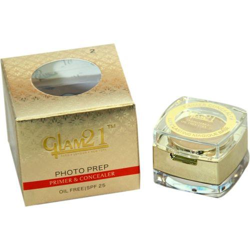 Glam 21 2 IN 1 Primer and concealer Longlasting makeup base Primer - 9 g(Natural)