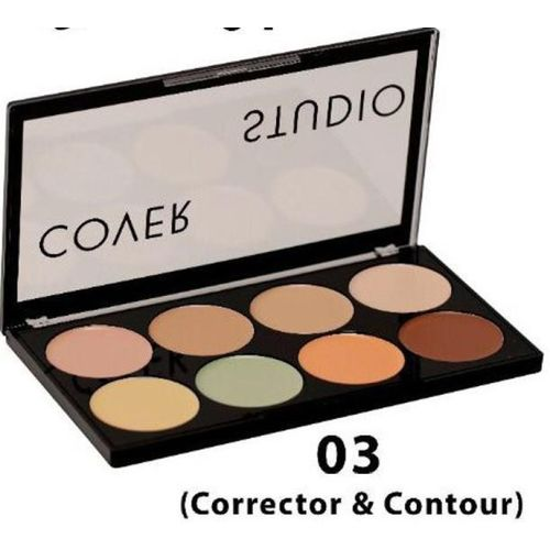 Swiss Beauty Corrector and Contour Concealer(MultiColour, 20 g)