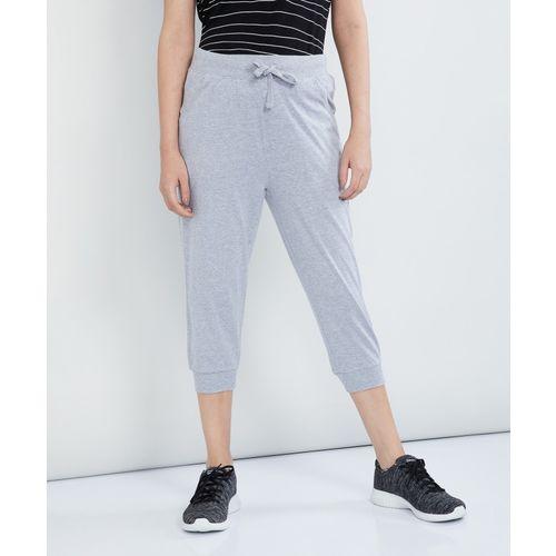Max Women Grey Capri