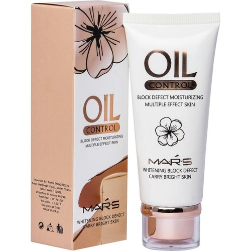 Mars Oil Control Skin Whitening Foundation(Beige, 60 ml)