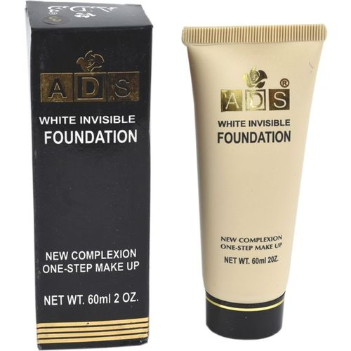ADS White foundation & concealer with SPF 15 ( instant whitening effect) Foundation(Beige, 60 ml)