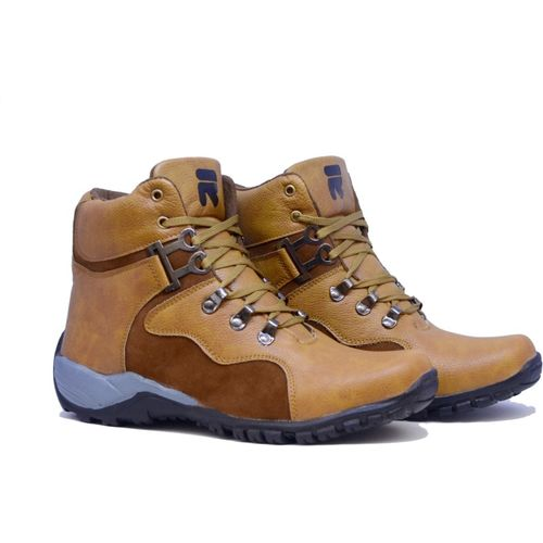 Rzisbo Strife Boots For Men(Beige)
