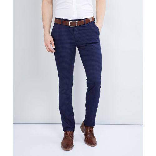 Max Regular Fit Men Blue Trousers