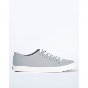 UNITED COLORS OF BENETTON Grey Synthetic Lace Up Sneakers