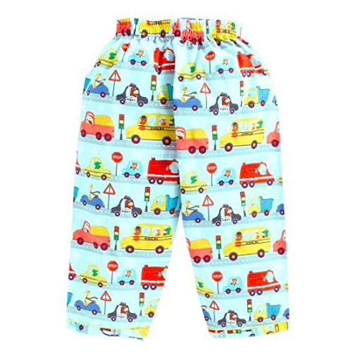 Knitting Doodles 100% Pure Cotton Cars Print Night Suit Set of 1 Shirt & Pyjama for Baby Boy and Baby Girl (4-5 Years, Multi)