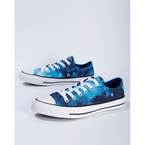 CONVERSE Blue Print Synthetic Lace-Up Casual Shoes