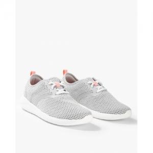 Crocs White Mesh Lace-Up Casual Shoes
