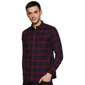 KILLER Multicolour Cotton Checked Slim Fit Casual Shirt