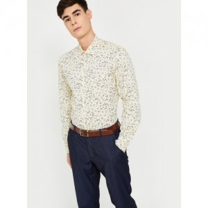 CODE Multicolour Cotton Printed Full Sleeves Formal Shirt