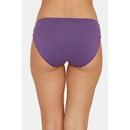 Zivame (Pack of 3) Bikini Low Rise Anti-Microbial Panty - Water Palace Mango